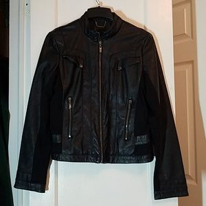 a.n a. - Women's size medium faux leather jacket